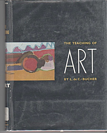 Vintage - Teaching Art Book - 1953 - Oop