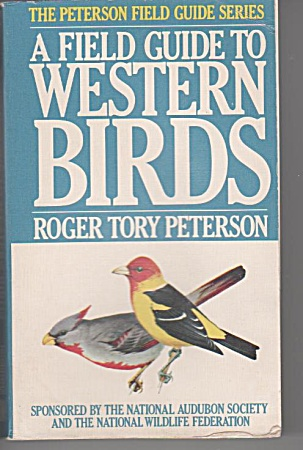 Western Birds - Field Guide - Roger Tory Peterson