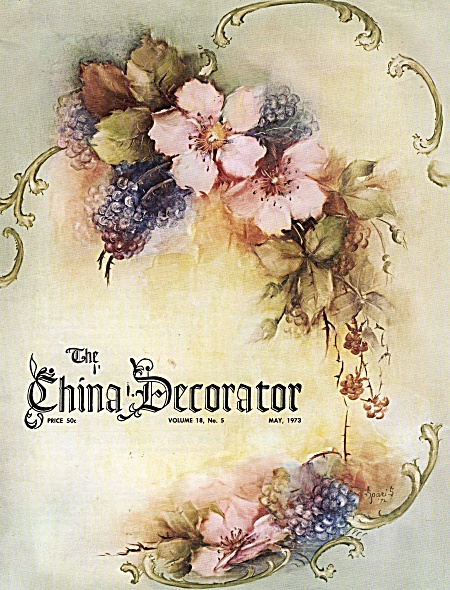 China Decorator - Vintage-may 1973