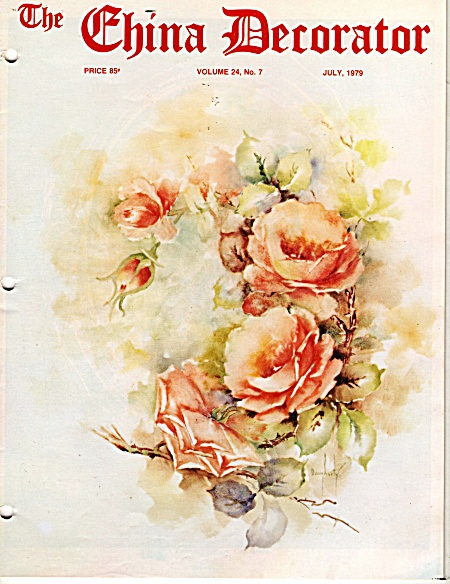 Vintage - China Decorator - July - 1979