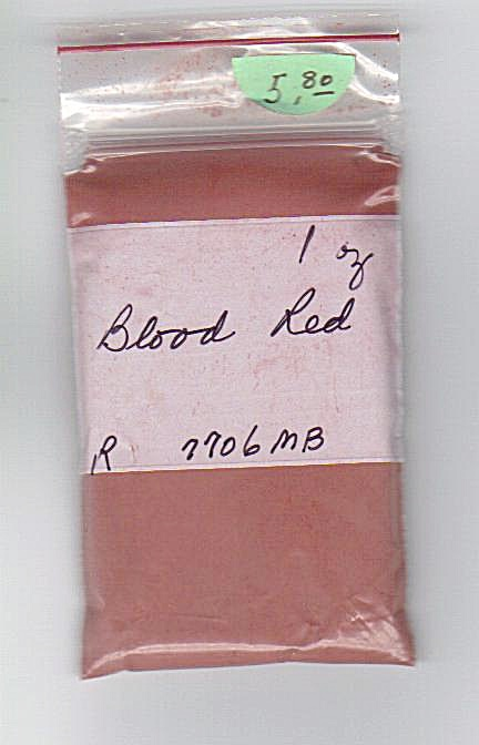 Blood Red - China Paint - 1 Ounce - Ch-07