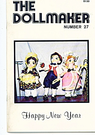 Vintage The Dollmaker Jan-feb 1980