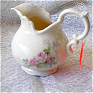 Hand Painted Artist Cameo Porcelain Pitcher