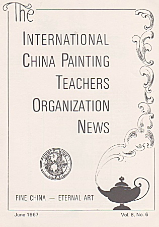 Vintage - Icpto - Ipat - June - 1967 - China Painting