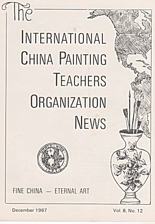Vintage - Icpto - Ipat - December - 1967 - China Painti