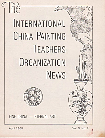 Vintage - April - 1968 - Oop - China Painting