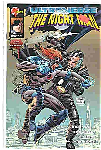 The Night Man - Malibu Comics - # 14 Nov. 1994
