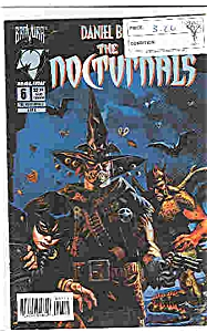 The Nocturnals - Malibu Comics - # 6 August 1995