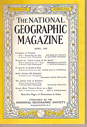 The National Geographic Magazine - April 1948