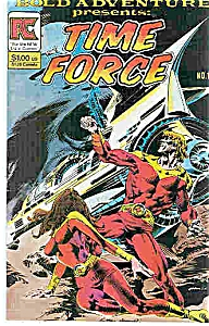 Time Force Comic - Pc Comics # 1 Nov. 1983