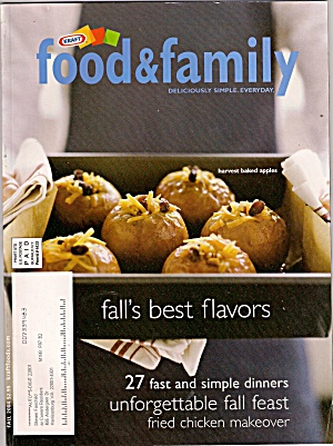 Food & Family By Kraft - 2004 Fall
