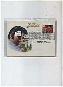 First Day Cover - Elvis Presley Stamp 1993