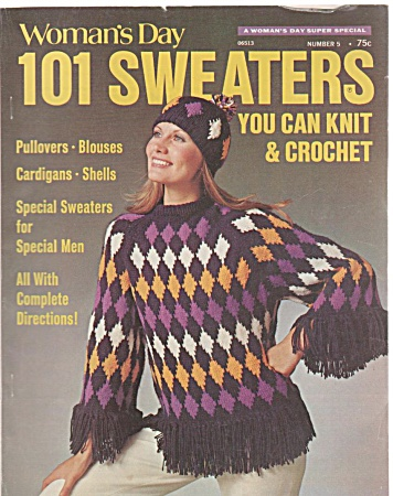 Woman's Day 101 Sweaters To Knit & Crochet-19