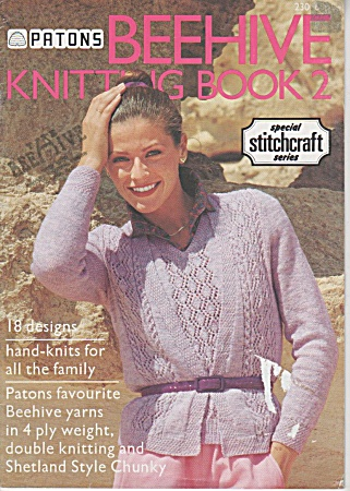 Vintage - Beehive - Knitting Book - Family Styles -