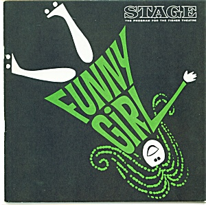 Fisher Stage Program - Funny Girl 1966