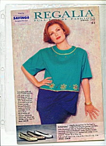 Regalia Full Figure Fashions - Spring 1993