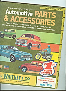 J. . Whitney & Co. Automotive Parts Catalog - No. 351