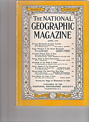 The National Geographic Magazine - April 1954