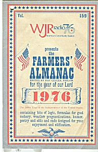 Farmers Almanac Of 1976