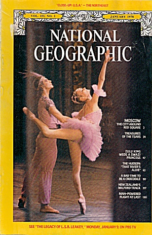 National Geographic - January 1978