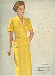 Montgomery Ward Spring & Summer Catalog - 1951