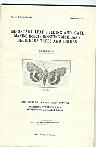 Leaf Feeding Bulletin No. 243- September 1933