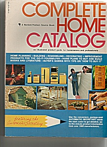 Complete Home Catalog - Copyright 1977