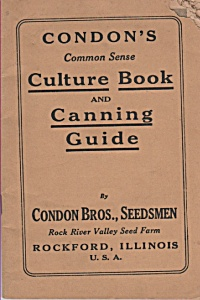Condon's Culture Book & Canning Guide