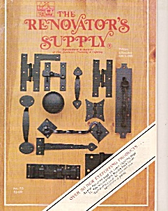 The Renovators Supply Catalogue 3-1-88