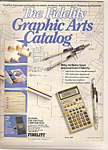 The Fidelity Graph9ic Arts Catalog - Spring 1989