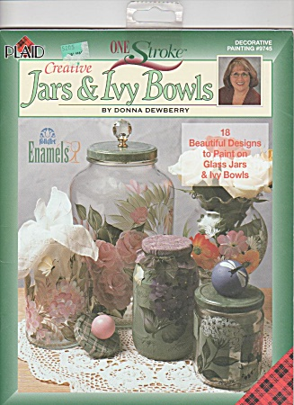 Donna Dewberry - One Stroke Painting - Jars-ivy B