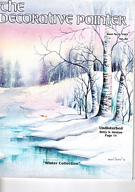Vintage - Decorative Painter - Winter Collection