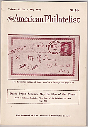 The American Philatelist - May 1975