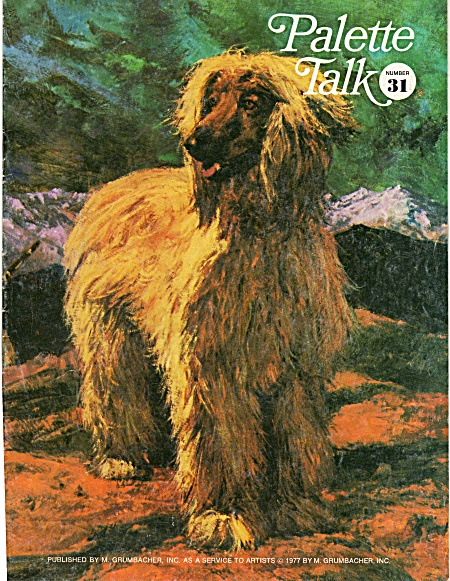 Grumbacher - Palette Talk - No 31 - 1977 -
