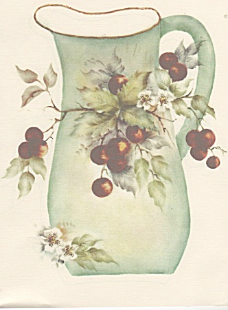 Cherries - Mary Lee Slocum - Vintage