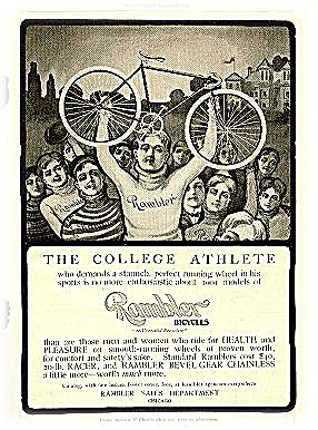 """rambler Bicycles"" 1903 Advertisement"
