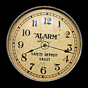 """alarm"" Safety Deposit Vault Savings Bank"