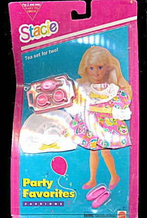 Barbie Stacie Party Favorites Tea Set Moc
