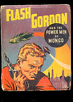 1948 Flash Gordon - Power Men Mongo Big Little Book
