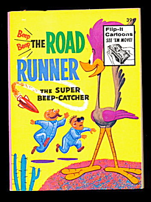 1973 Road Runner - Whitman Big Little Book