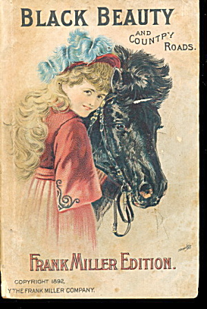 1892 Black Beauty & Country Roads Book