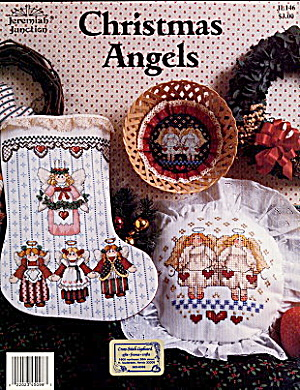 """christmas Angels"" Jeremiah Junction X-stitch"