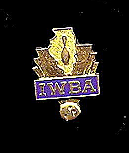 Vintage Iwba (International Womans Bowling Assoc) Pin