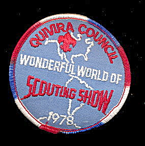 1978 Scouting Show Quivira Council Boy Scouts Patch