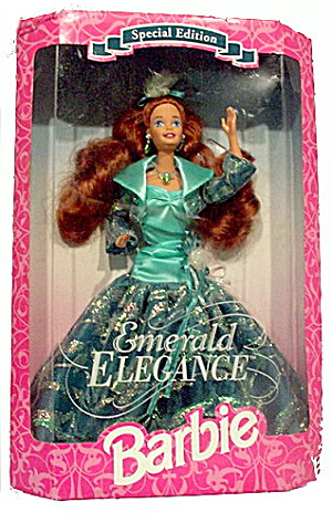 1994 Barbie Emerald Elegance Mint In Box