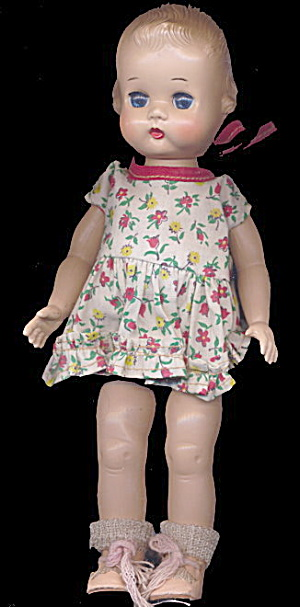 "1951-1955 Ideal 9"" Lolly Or Tiny Girl Doll"