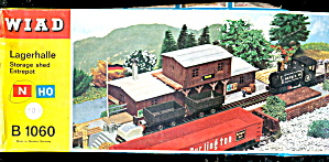 Vintage Wiad German Storage Shed B 1060 In Box