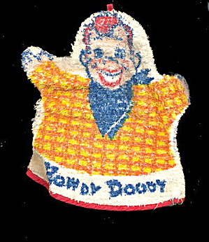 1950s Howdy Doody Terry Cloth Hand Puppet / Wash