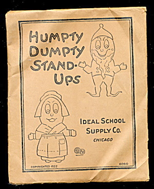 1922 Humpty Dumpty Stand-ups In Pkg