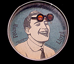 1920s Harold Lloyd Hand Held Palm Puzzle